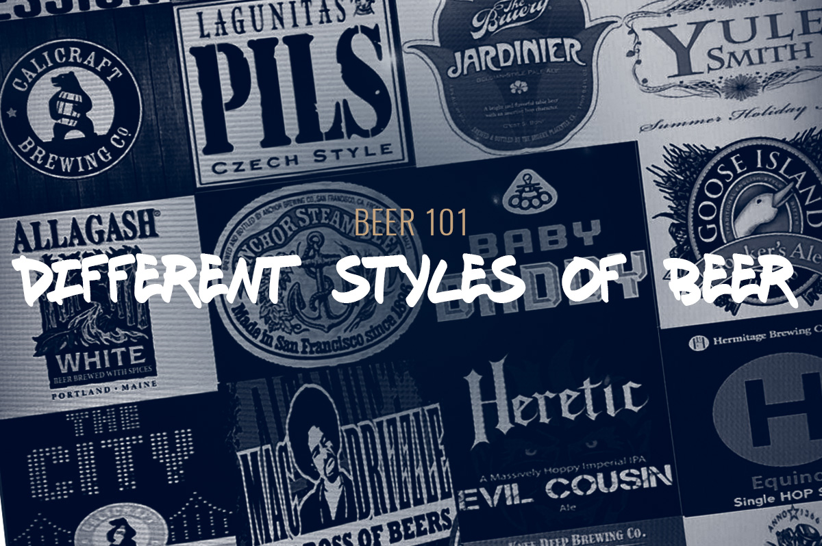 TBF 02: Beer 101 – Different Styles Of Beer